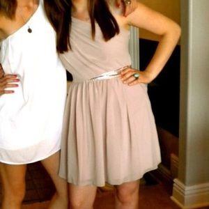 ASOS Dresses - ASOS Pink One Shoulder Dress